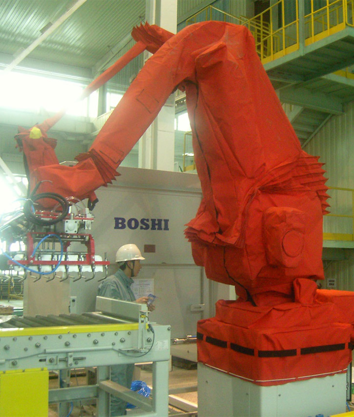 Industrial robot cover